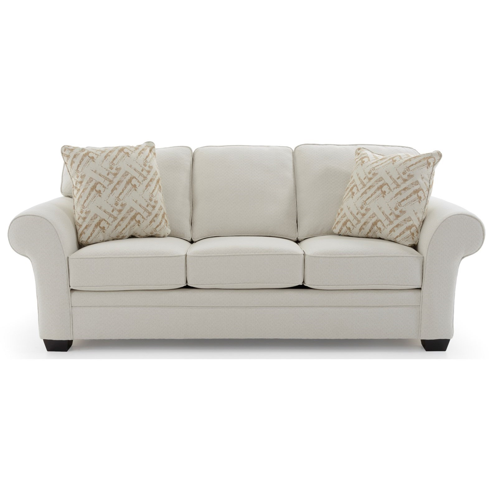 Broyhill Furniture Zachary Upholstered Sofa - Item Number: 7902-3 4833-92