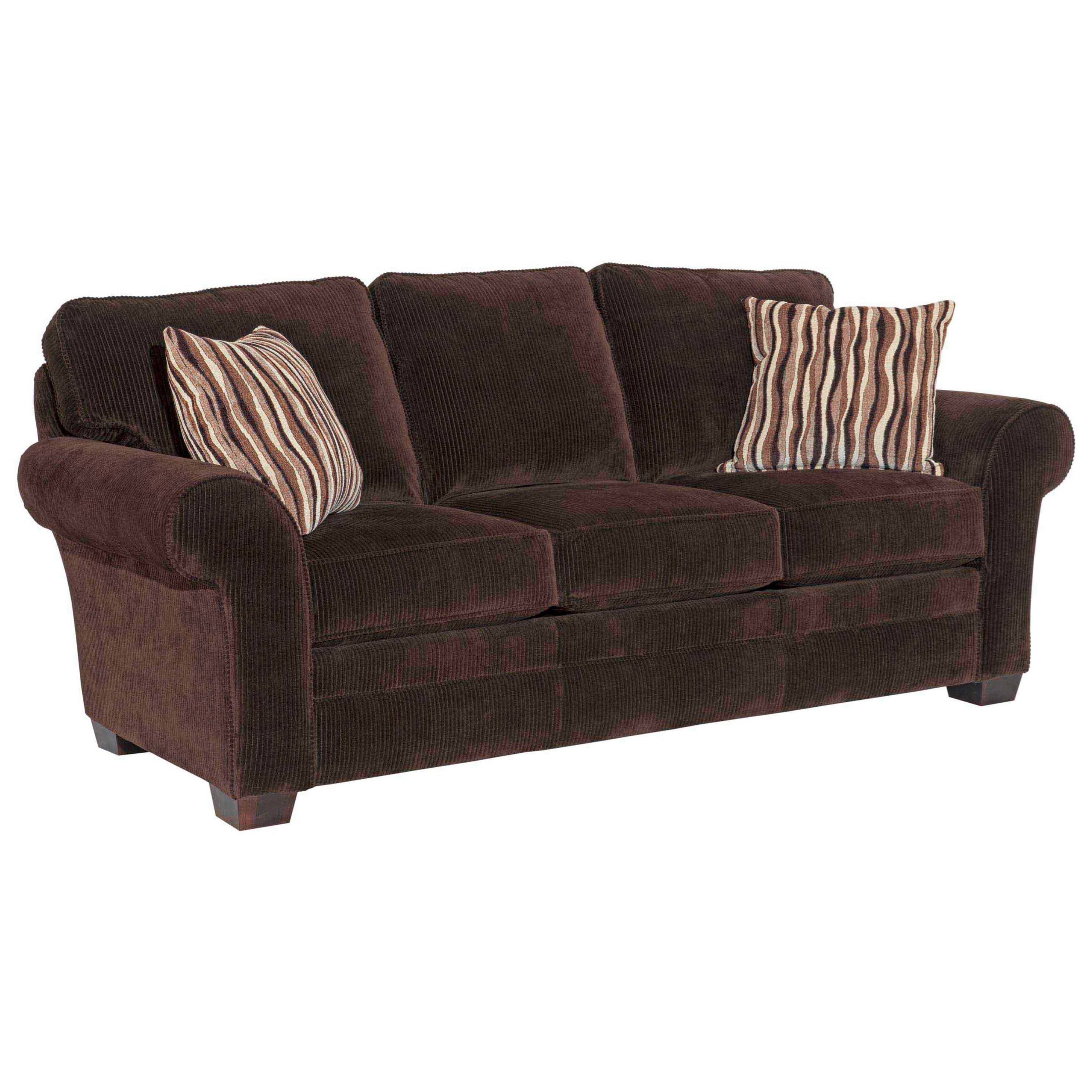 Broyhill Furniture Zachary Upholstered Sofa - Item Number: 7902-3-7973-87