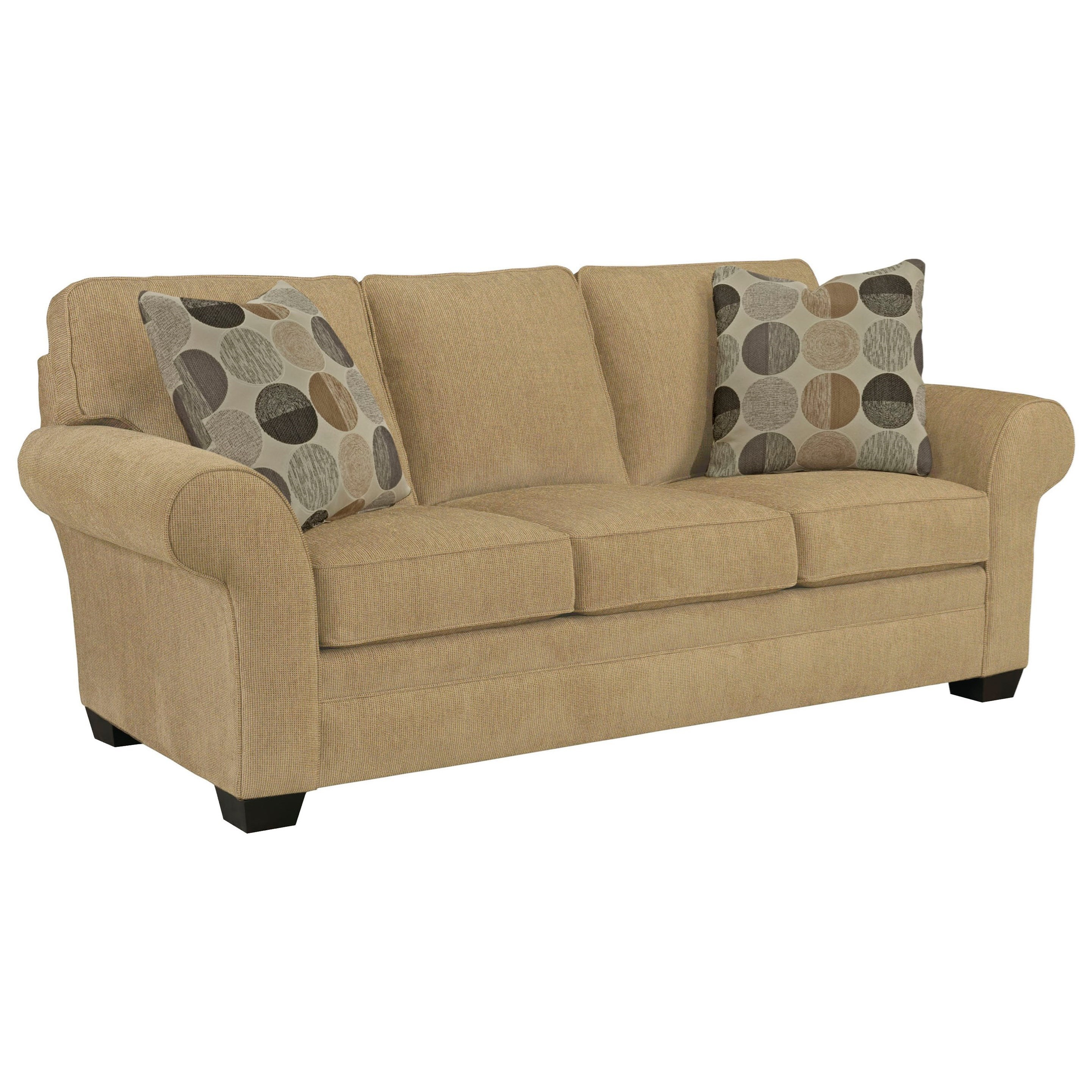 Broyhill Furniture Zachary Upholstered Sofa - Item Number: 7902-3-8595-83