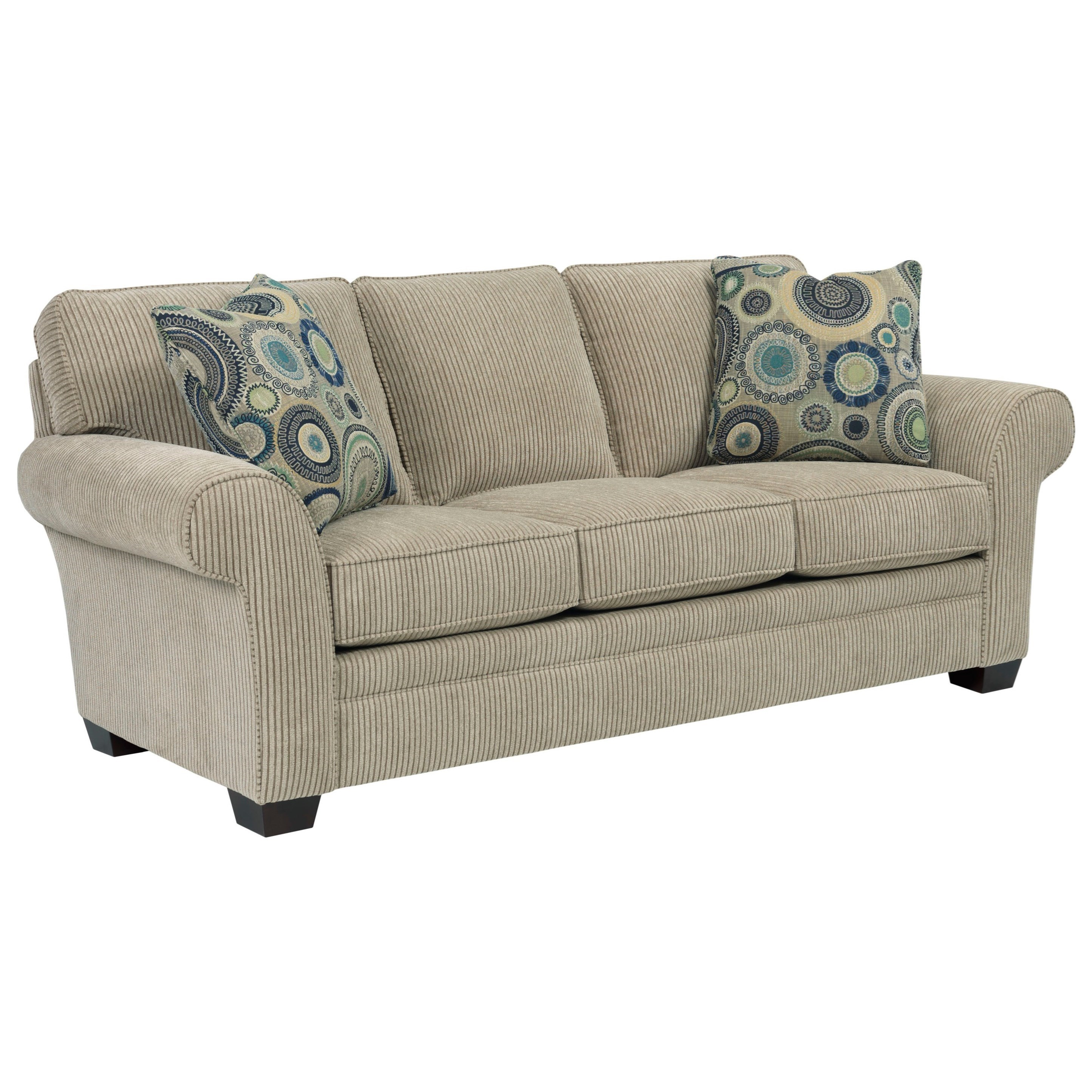 Broyhill Furniture Zachary Upholstered Sofa - Item Number: 7902-3-8785-93
