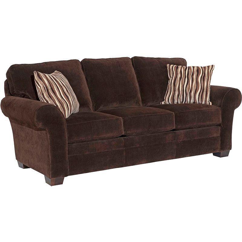 Broyhill Furniture Zachary Upholstered Stationary Sofa Ahfa Sofas