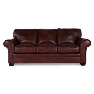 Broyhill Furniture Zephyr Leather Sofa