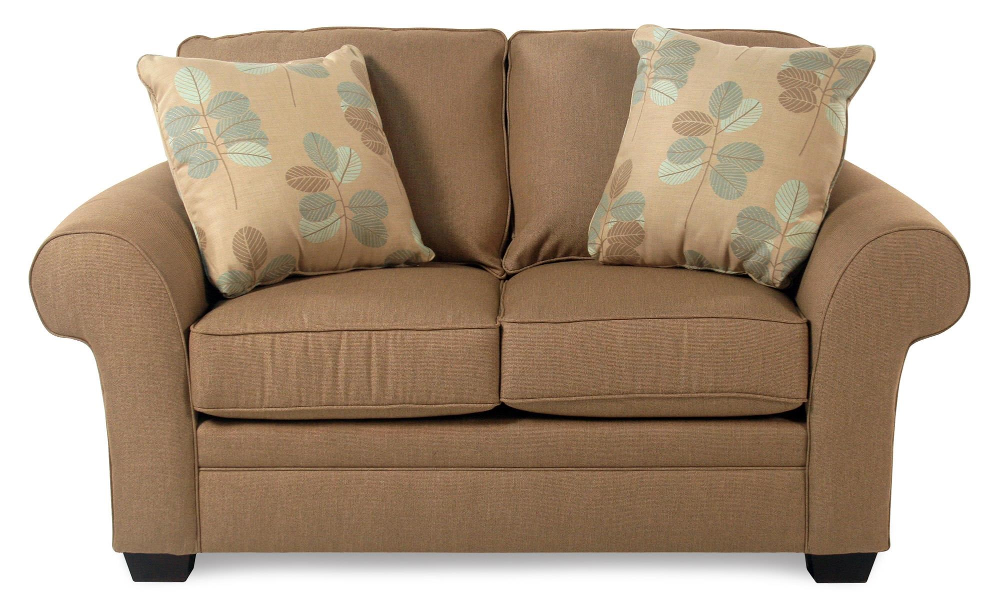 Broyhill Furniture Lagoona Roll Arm Loveseat - Item Number: S7902-1-44282-0008