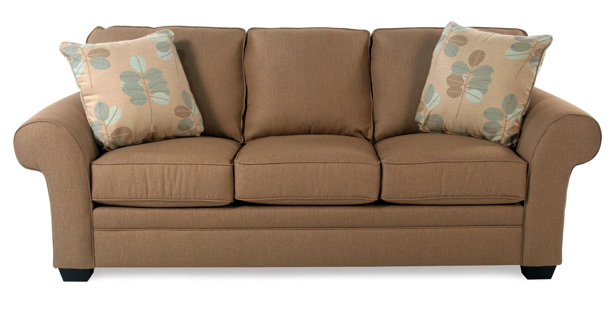 Broyhill Furniture Lagoona Roll Arm Sofa - Item Number: S7902-3-44282-0008