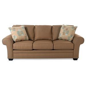 Broyhill Furniture Lagoona Roll Arm Sofa