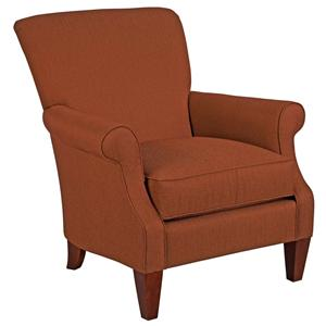 Broyhill Furniture Accent Chairs and Ottomans  Jordan Traditional Styled Chair