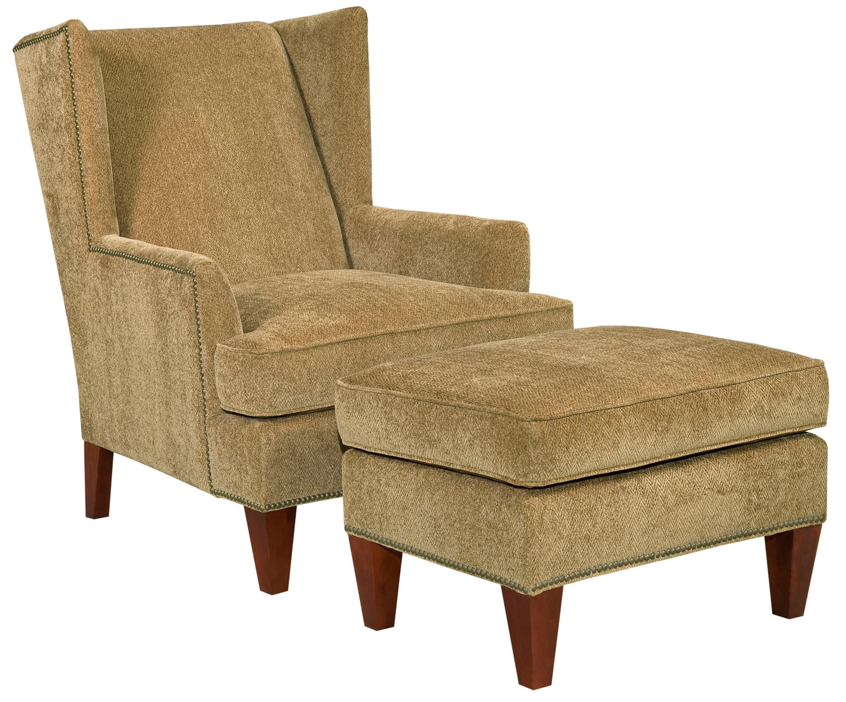 Broyhill Furniture Accent Chairs and Ottomans  Chair and Ottoman - Item Number: 9039-0+5