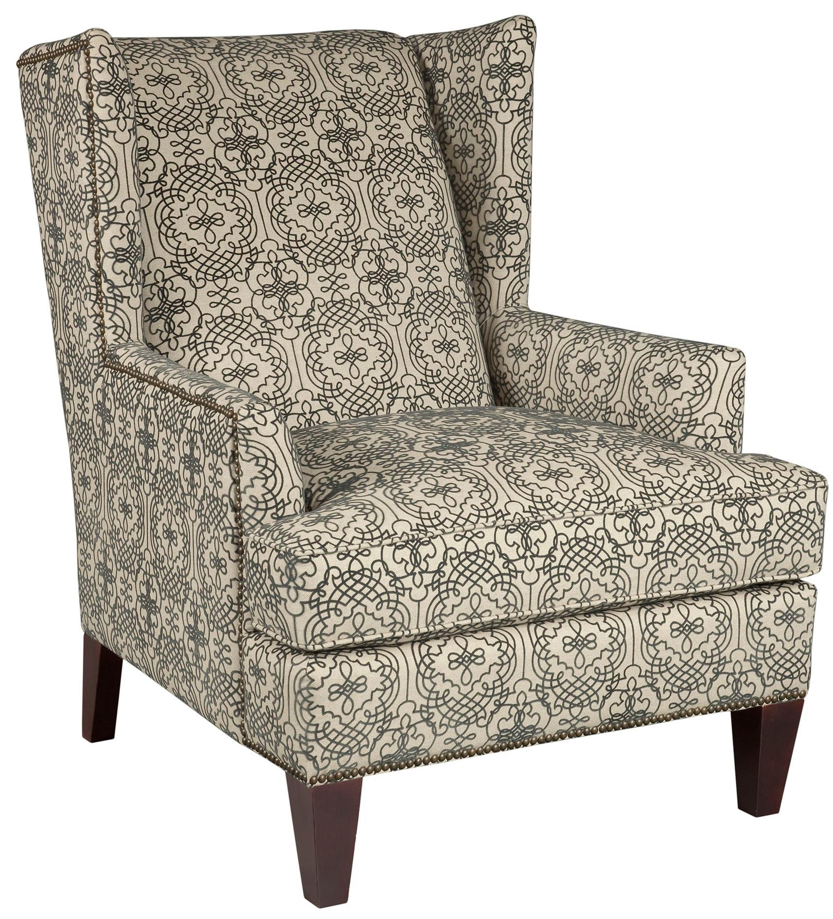 Broyhill Furniture Accent Chairs and Ottomans  Lauren Chair - Item Number: 9039-0-8860-95