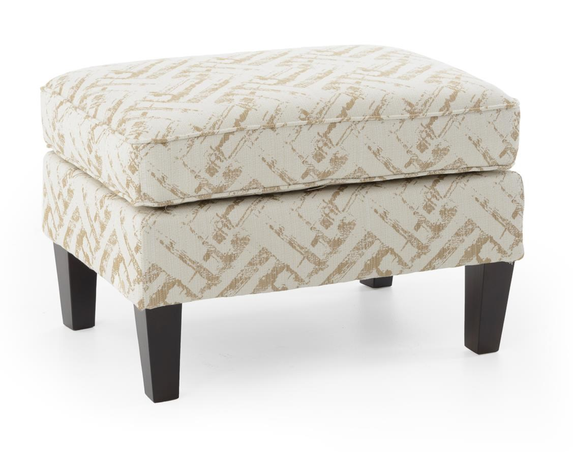 Broyhill Furniture Accent Chairs and Ottomans  Lauren Ottoman - Item Number: 9039-5 4602-84 W BRASS