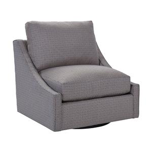 Broyhill Furniture Aldrin Swivel Chair & 1/2