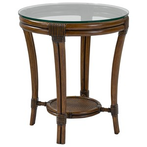 Broyhill Furniture Amalie Bay Round Lamp Table