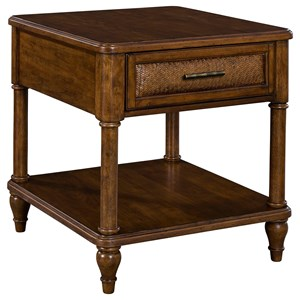 Broyhill Furniture Amalie Bay End Table