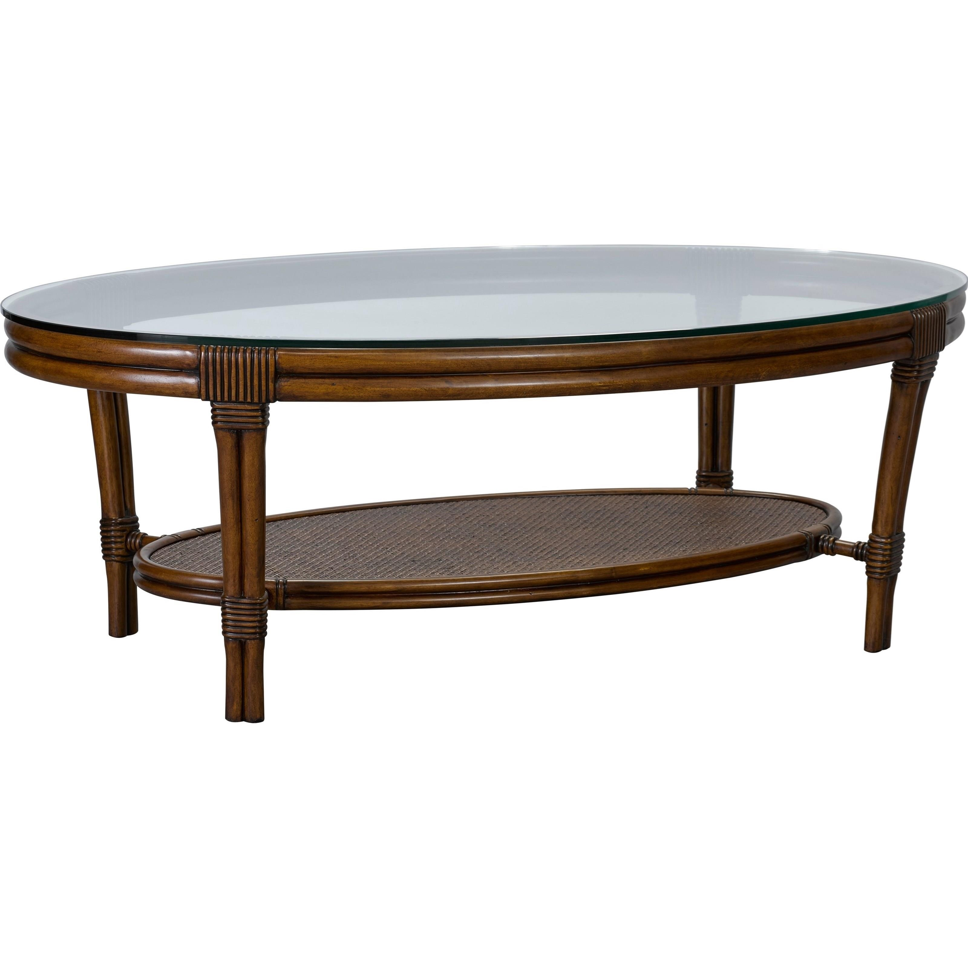 Broyhill Furniture Amalie Bay Oval Cocktail Table - Item Number: 4548-003