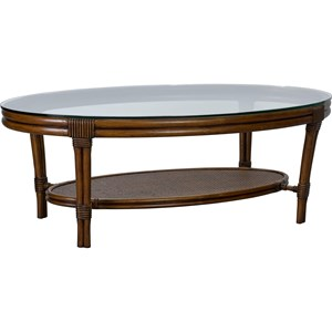 Broyhill Furniture Amalie Bay Oval Cocktail Table