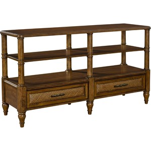 Broyhill Furniture Amalie Bay Sofa/Console Table