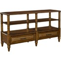 Broyhill Furniture Amalie Bay Sofa/Console Table - Item Number: 4548-009