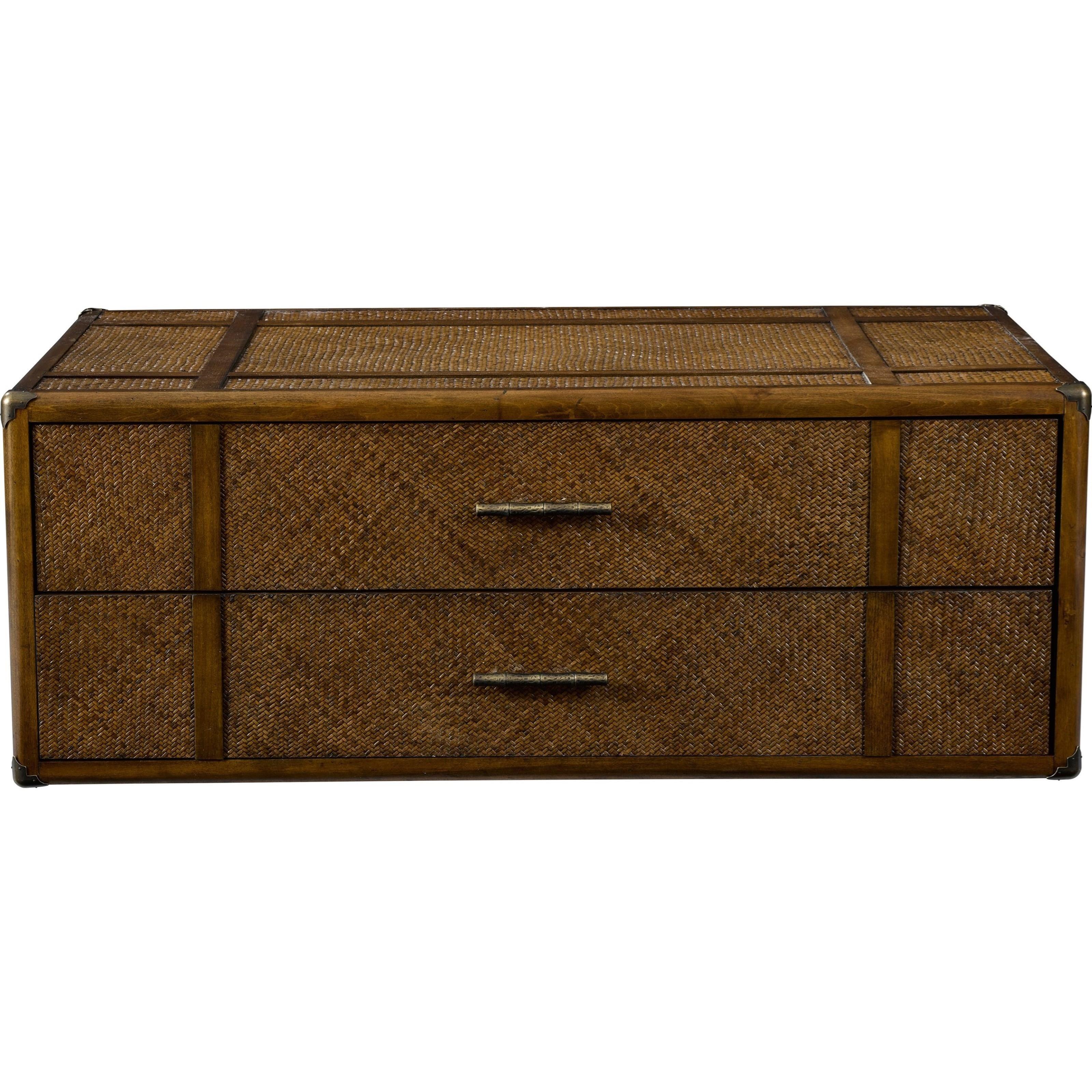 Broyhill Furniture Amalie Bay 4548 015 Fully Padded Raffia