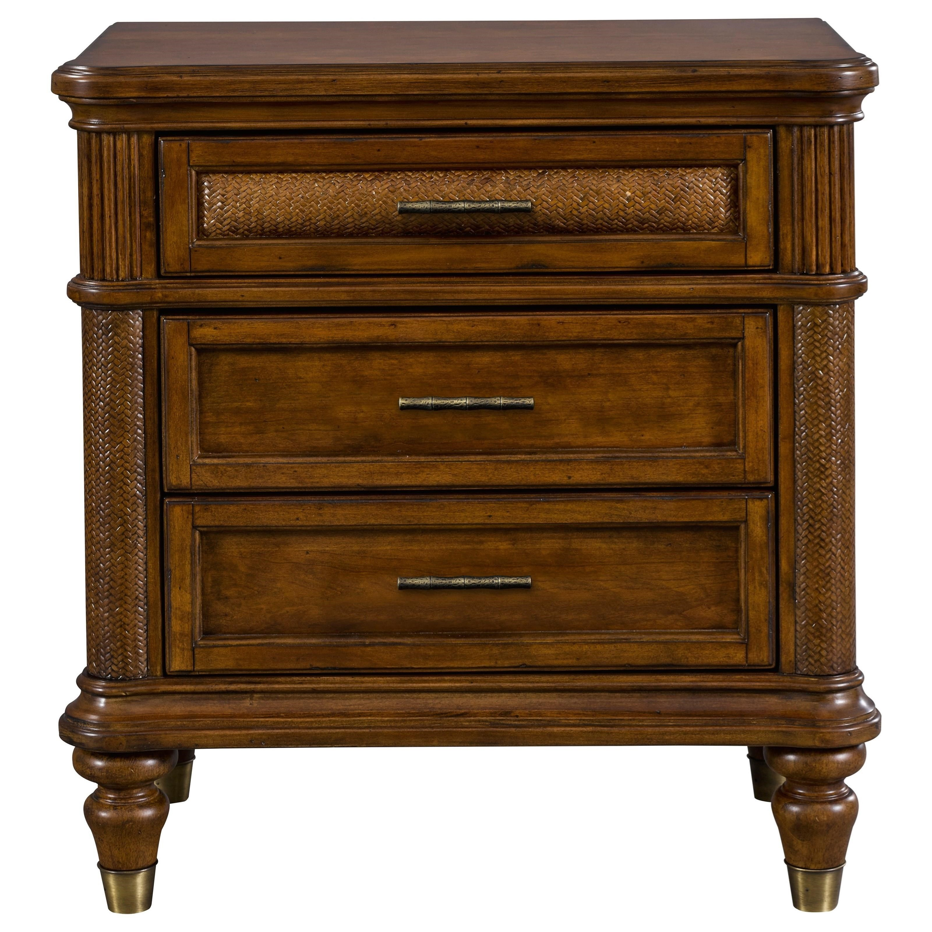 Broyhill Furniture Amalie Bay 4548 292 3 Drawer Nightstand
