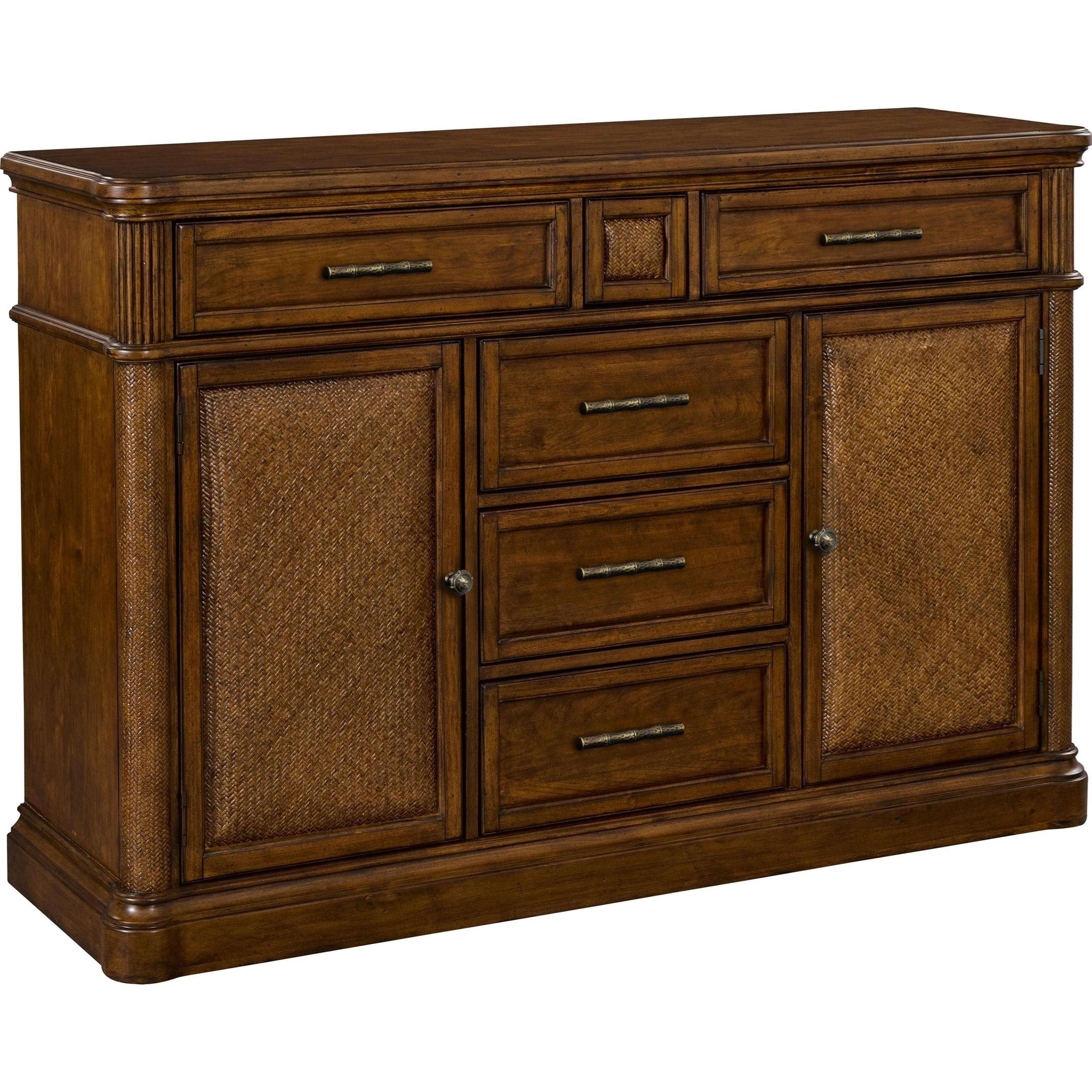Broyhill Furniture Amalie Bay 4548 513 5 Drawer Sideboard