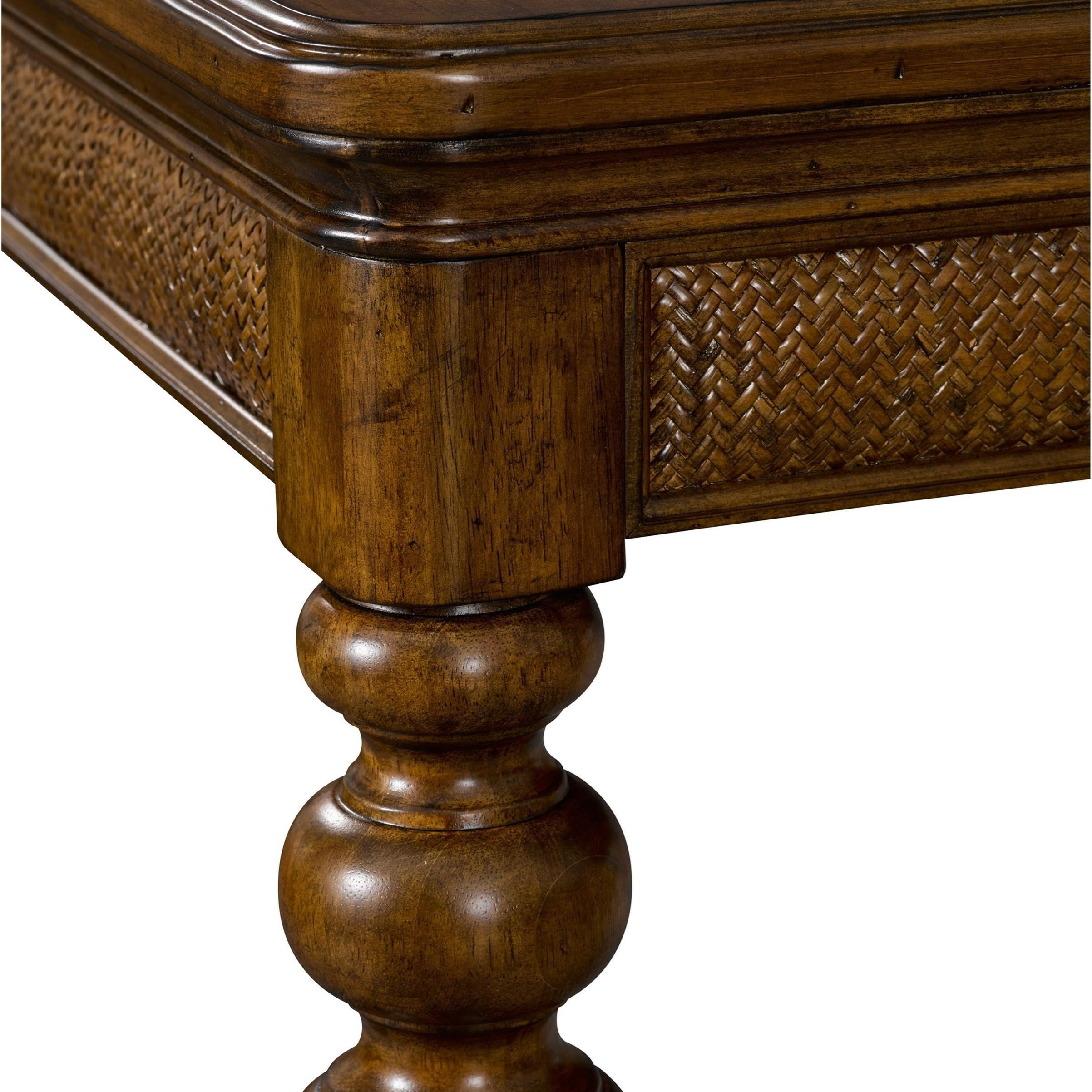 Broyhill Furniture Amalie Bay 4548 542 Leg Dining Table