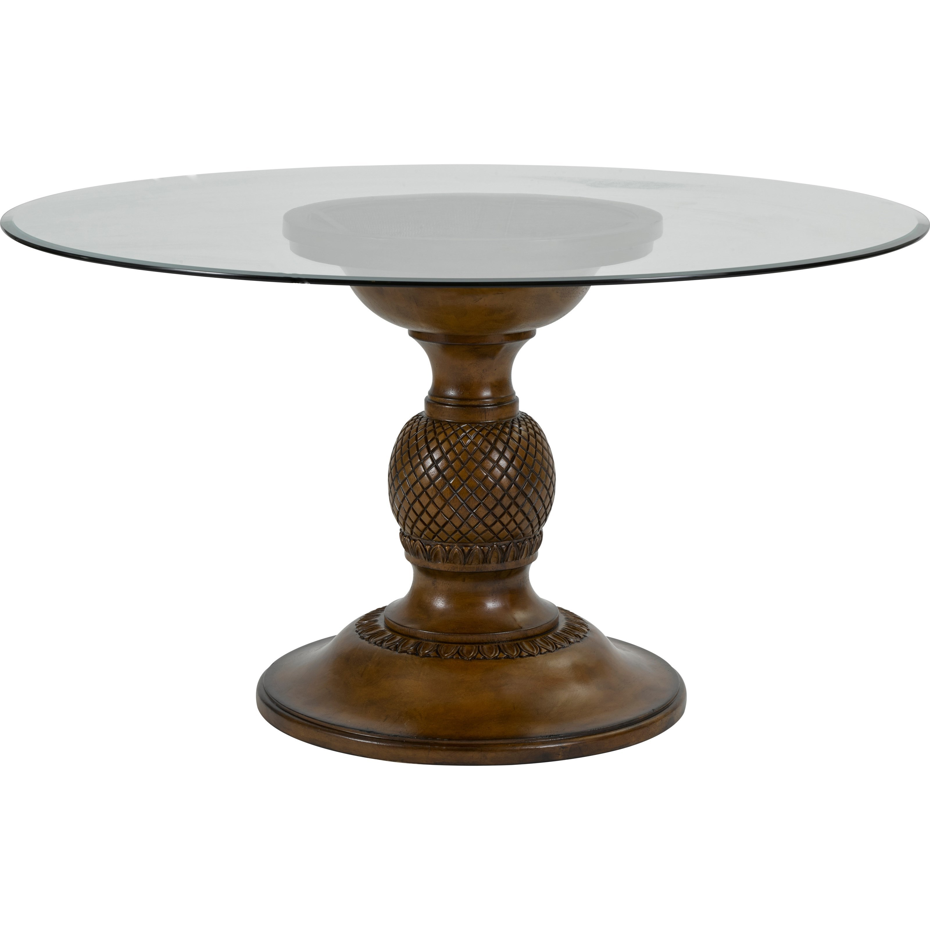 Broyhill Furniture Amalie Bay Round Dining Table - Item Number: 4548-551+531