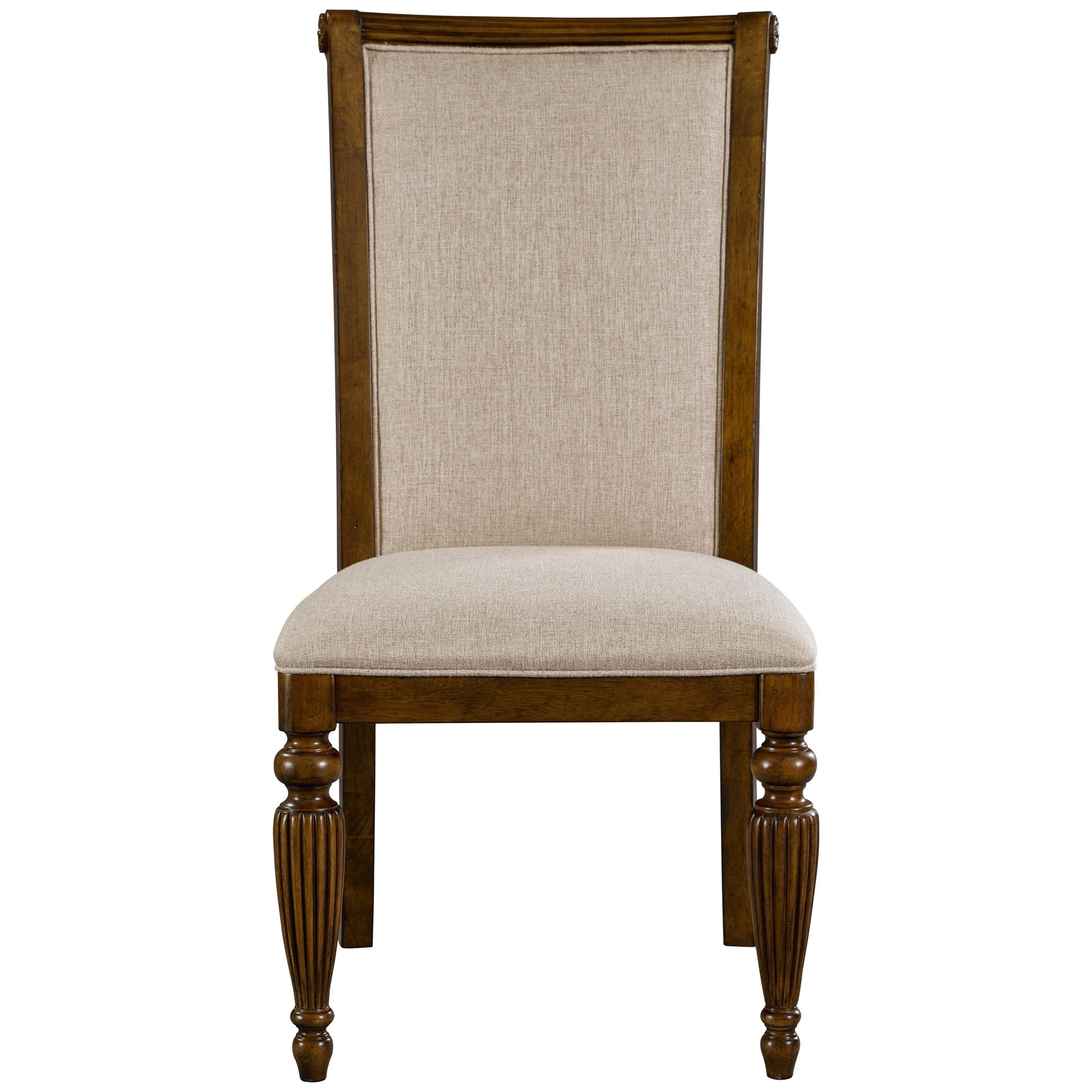 Broyhill Furniture Amalie Bay Upholstered Side Chair - Item Number: 4548-581