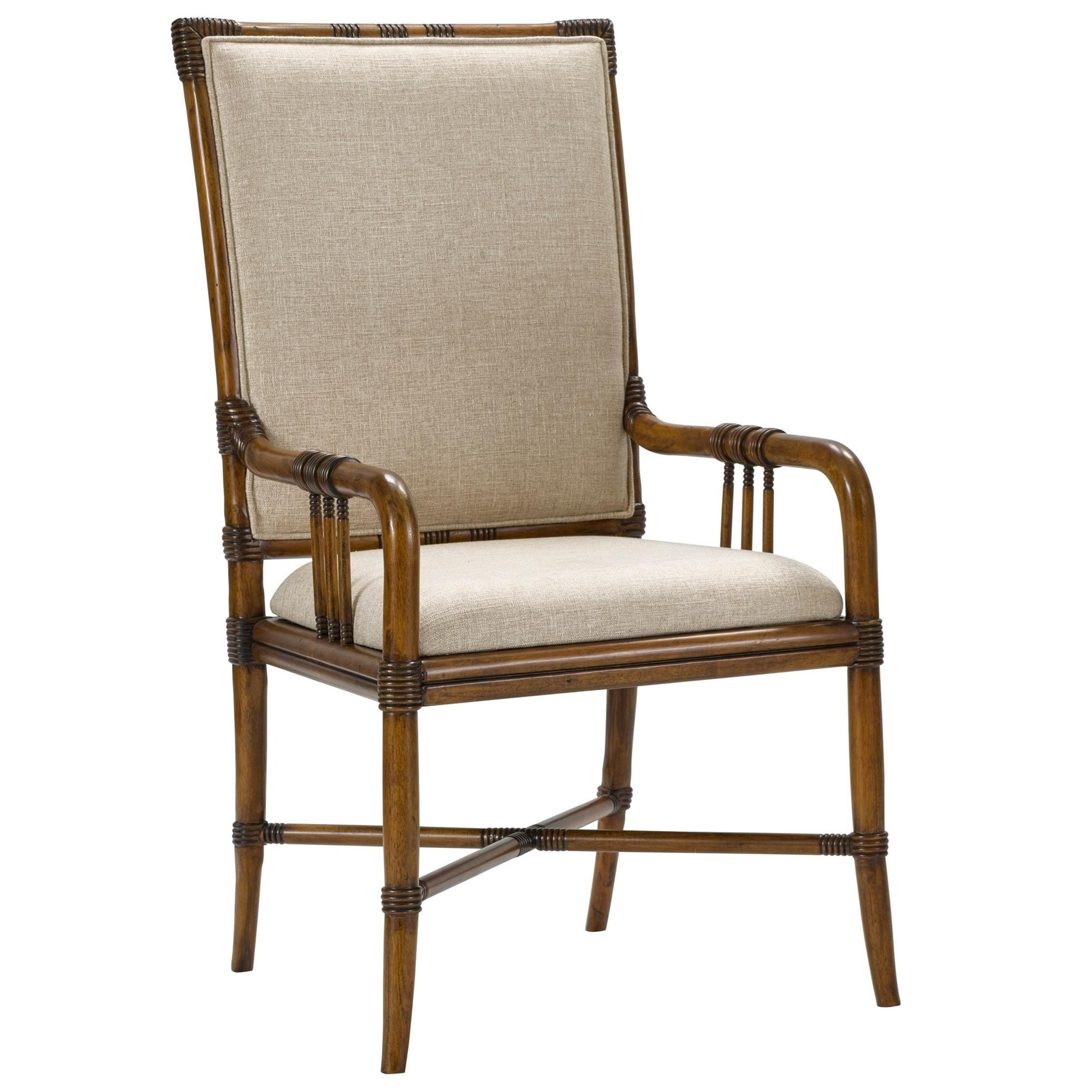 Broyhill Furniture Amalie Bay Bamboo Arm Chair - Item Number: 4548-584