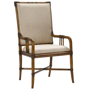 Broyhill Furniture Amalie Bay Bamboo Arm Chair