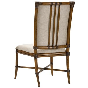 Broyhill Furniture Amalie Bay Bamboo Side Chair