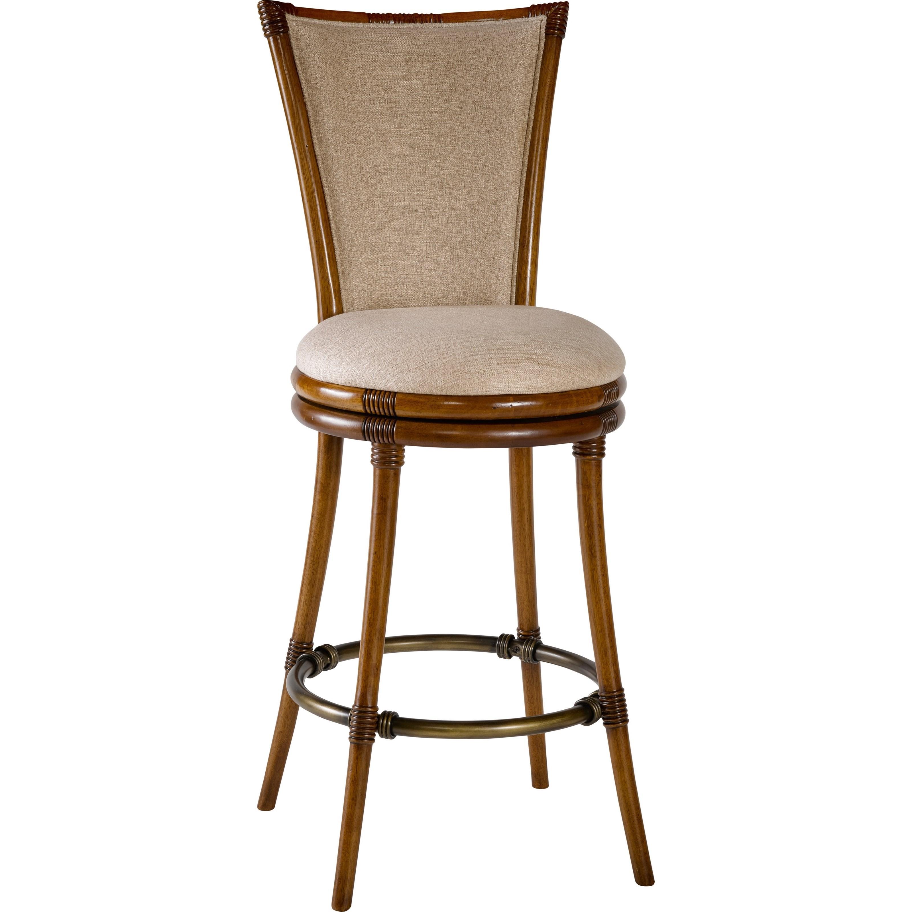 Broyhill Furniture Amalie Bay Bamboo Pub Stool - Item Number: 4548-592