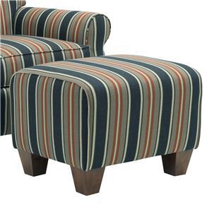Broyhill Furniture Anya Transitional Chair Ottoman