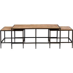 Broyhill Furniture Ariana Nesting Cocktail Table