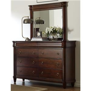 Broyhill Furniture Aryell Dresser + Mirror
