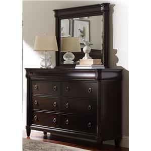Broyhill Furniture Aryell Dresser + Mirror