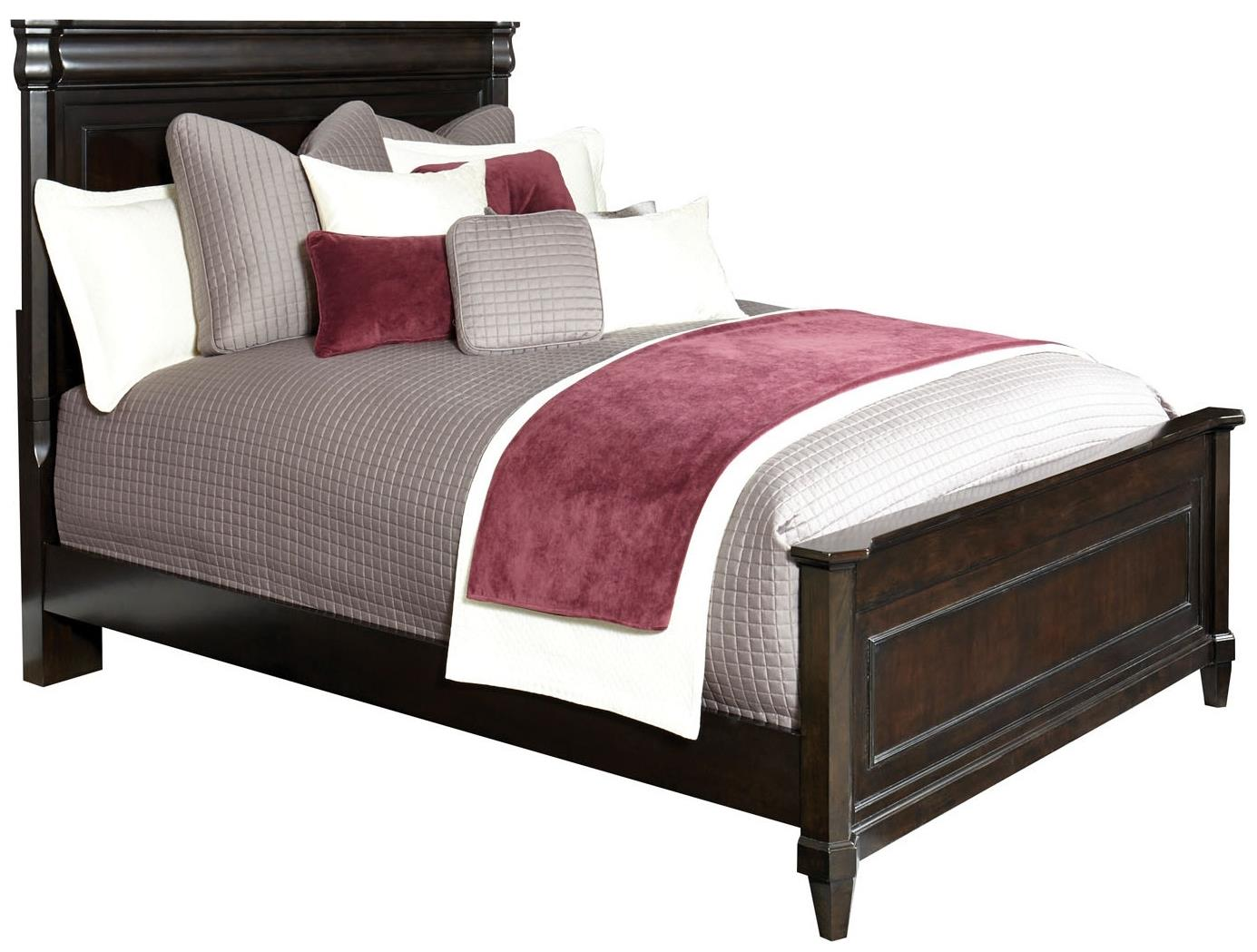 Broyhill Furniture Aryell Queen Panel Bed - Item Number: 4907-250+251+450