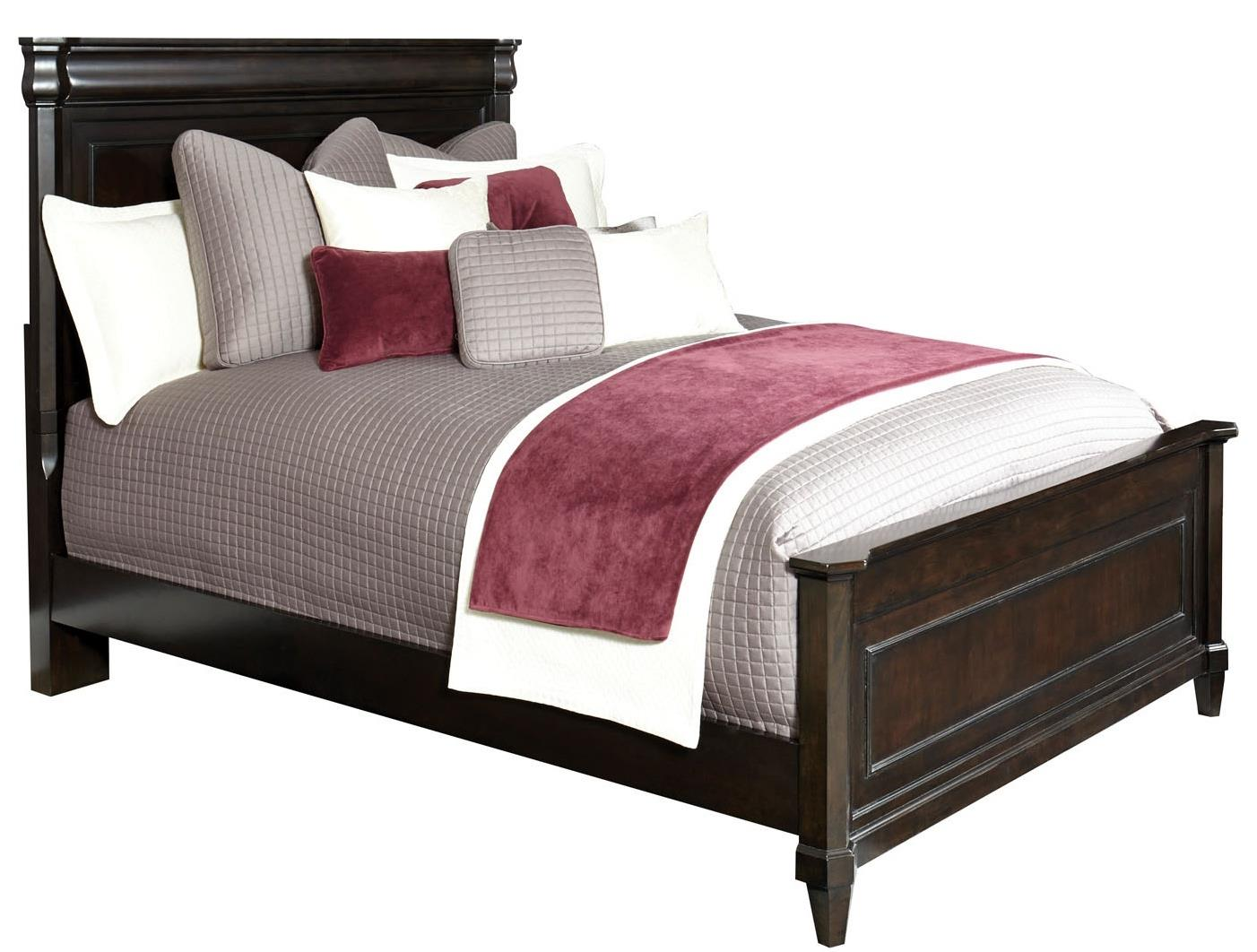 Broyhill Furniture Aryell King Panel Bed - Item Number: 4907-254+255+450