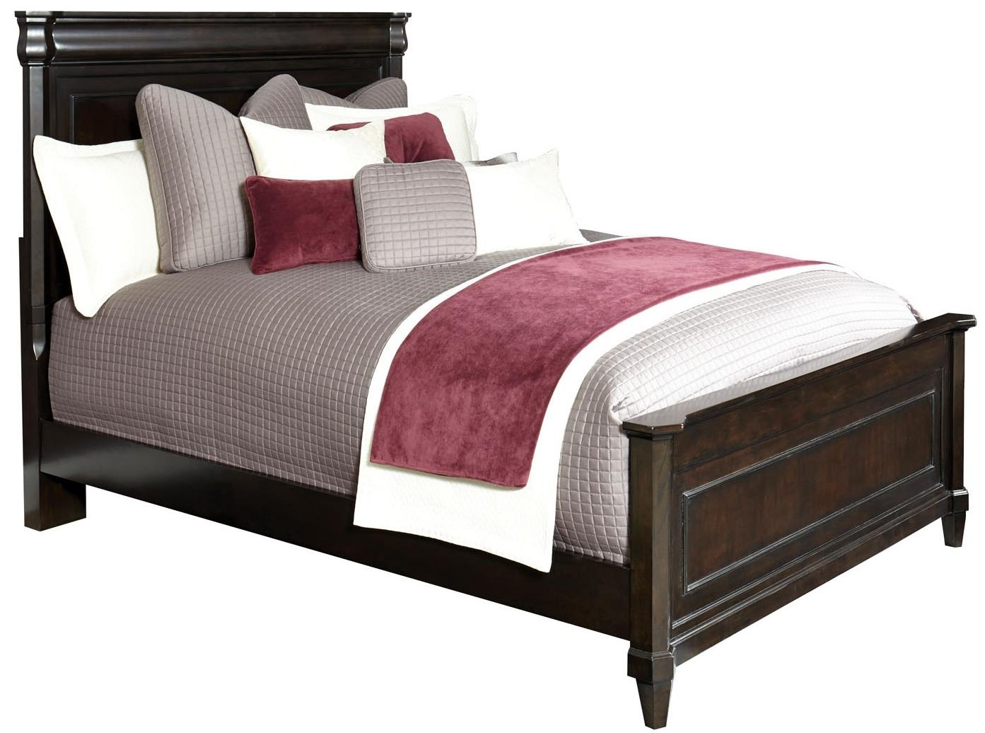 Broyhill Furniture Aryell California King Panel Bed - Item Number: 4907-254+255+455