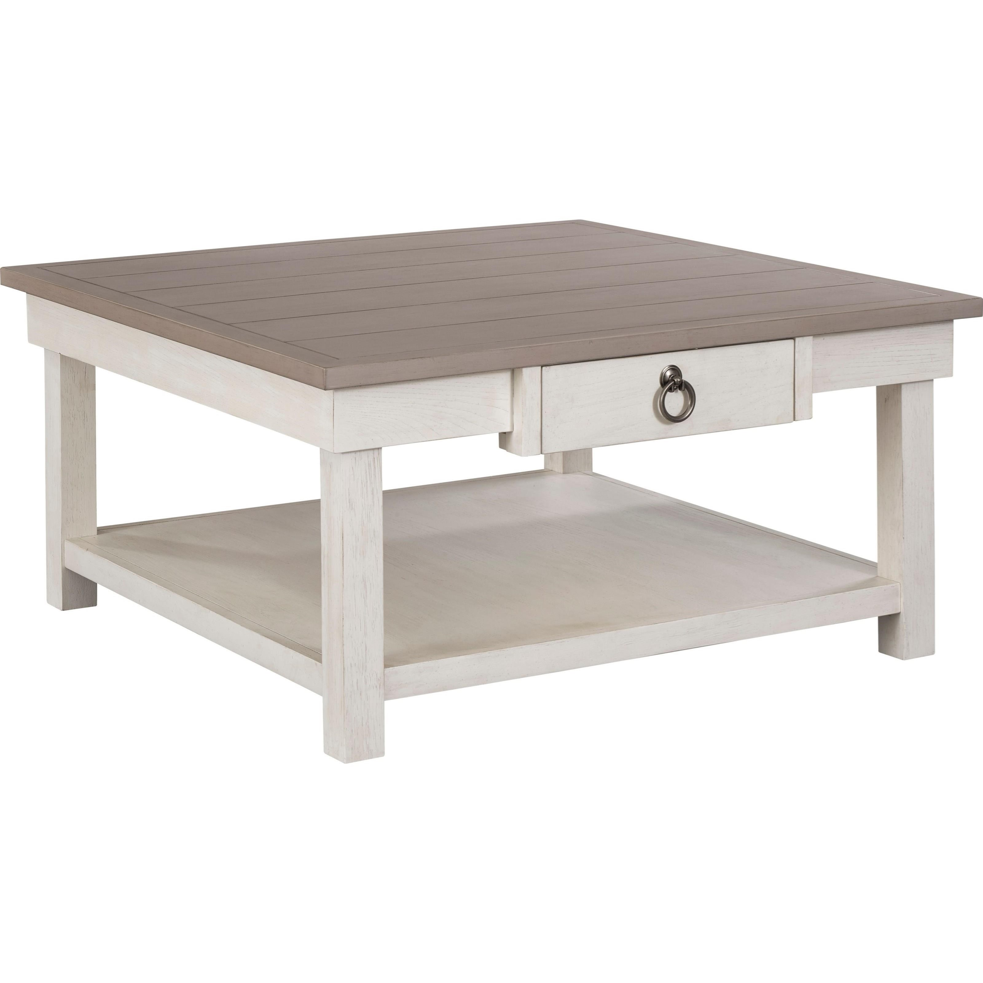 Broyhill Furniture Ashgrove 4547 013wh Pu 1 Drawer Square