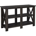 "Broyhill Furniture Ashgrove 50"" Small Console Table - Item Number: 4547-020NUT"
