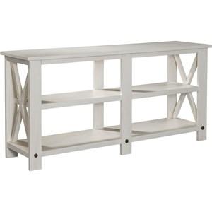 "Broyhill Furniture Ashgrove 65"" Large Console Table"
