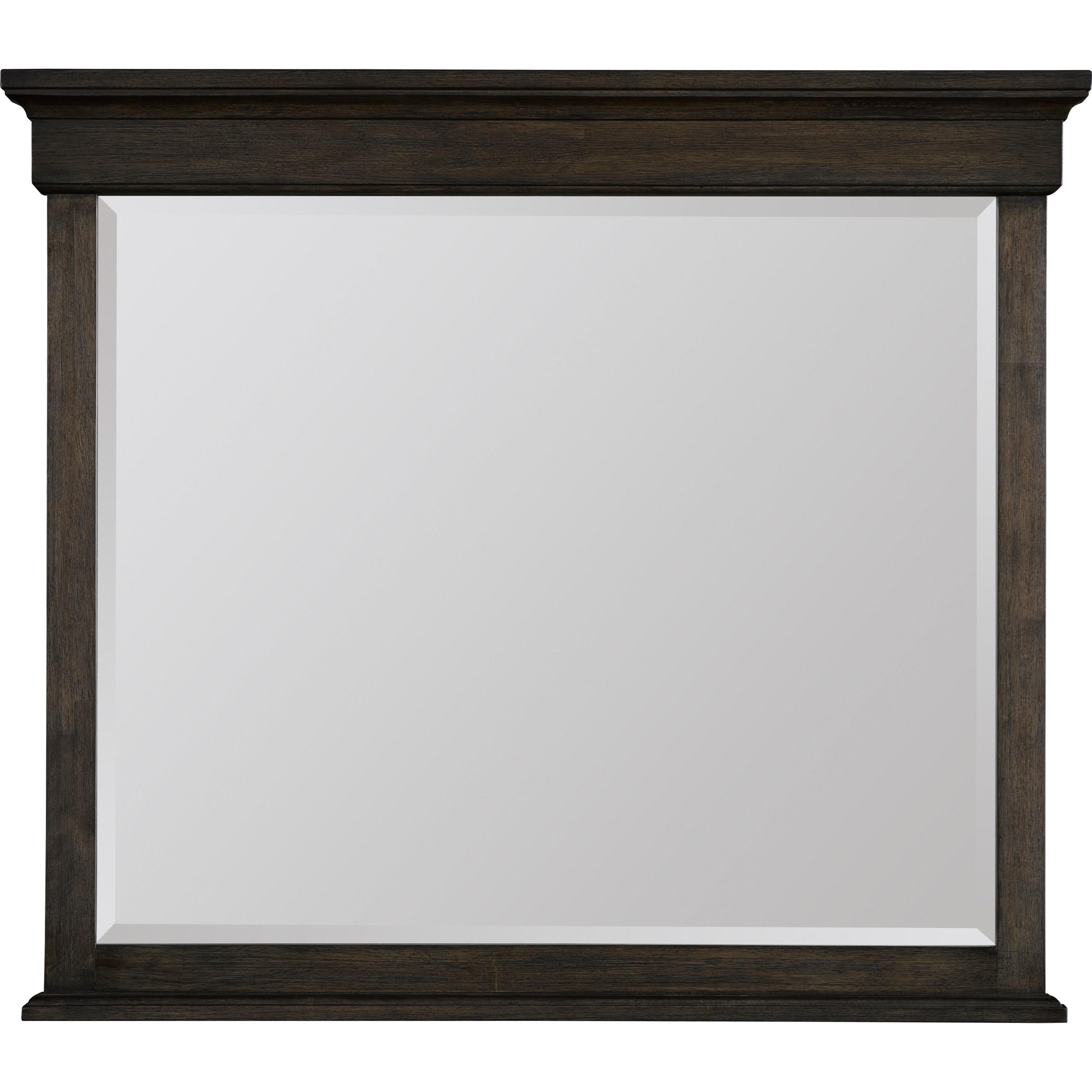 Broyhill Furniture Ashgrove Dresser Mirror - Item Number: 4547-236NUT
