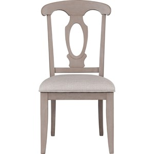 Broyhill Furniture Ashgrove Upholstered Seat Side Chair