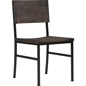 Broyhill Furniture Ashgrove Metal-Wood Side Chair