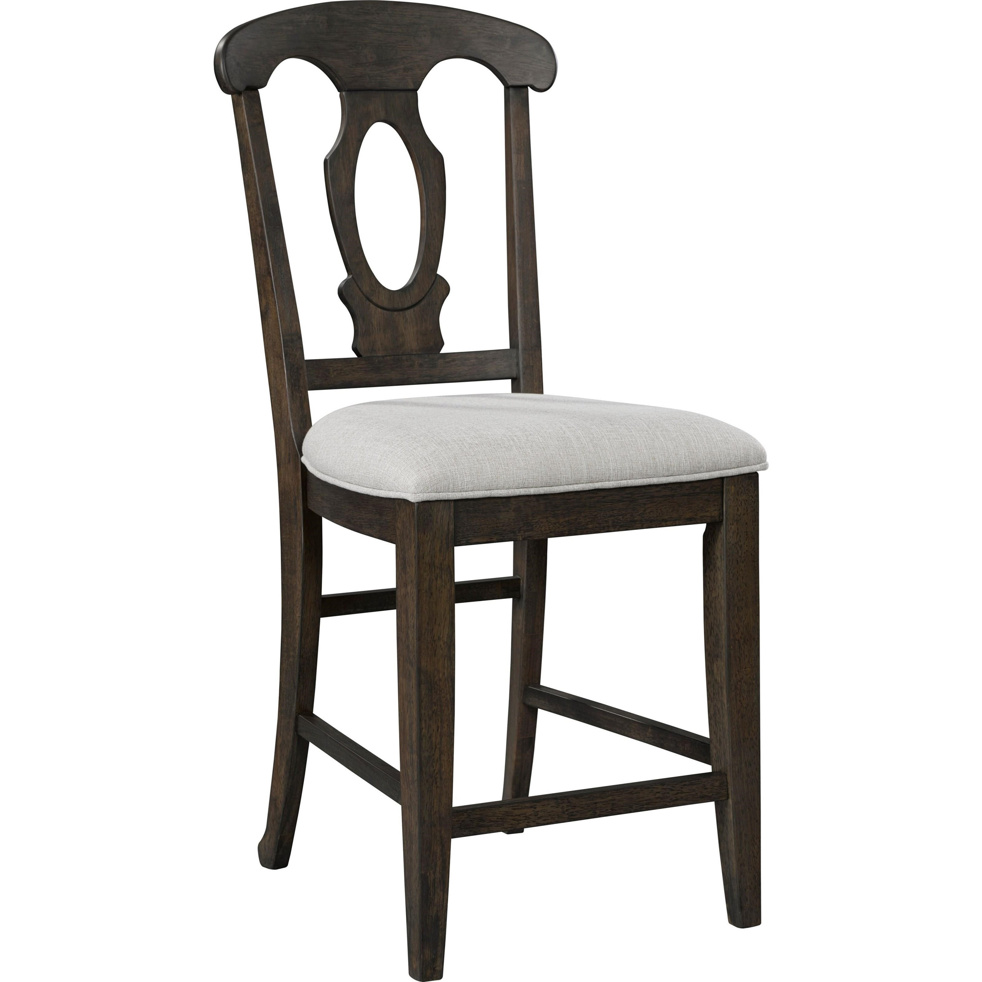 Broyhill Furniture Ashgrove Upholstered Seat Counter Stool - Item Number: 4547-591NUT