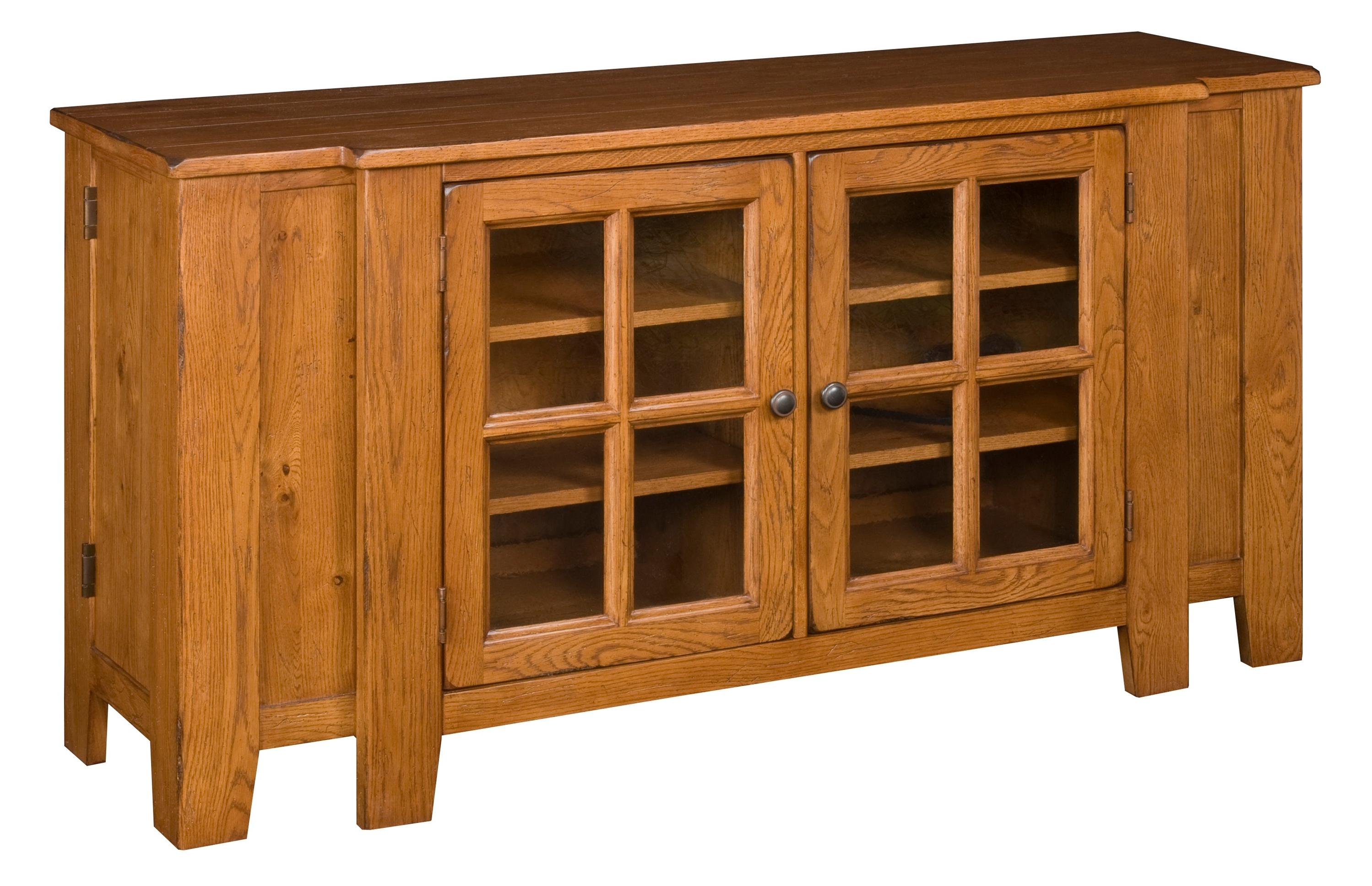 Broyhill Furniture Attic Heirlooms Entertainment Console with Two ...