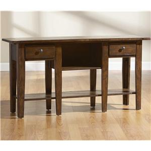 Broyhill Furniture Attic Rustic Sofa Table
