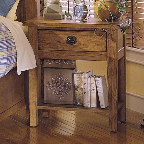 Broyhill Furniture Attic Heirlooms Nightstand - Item Number: 4397-92S