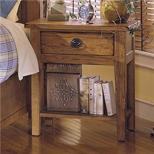 broyhill furniture attic heirlooms nightstand