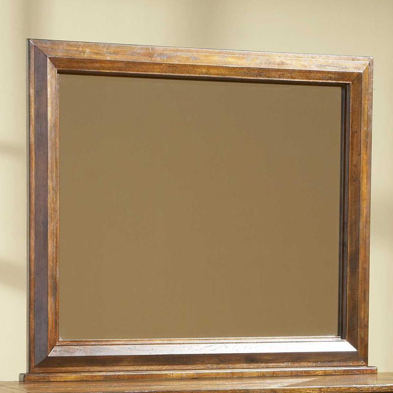Broyhill Furniture Attic Rustic Wall Mirror - Item Number: 4399-36