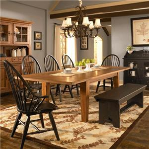 Broyhill Furniture Attic Heirlooms 7 Piece Dining Set